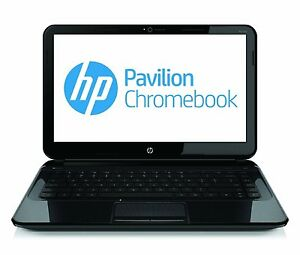 HP Pavilion 14-C050NR CHROMEBOOK 1.10 GHz 16GB SSD 4GB Webcam Notebook Laptop