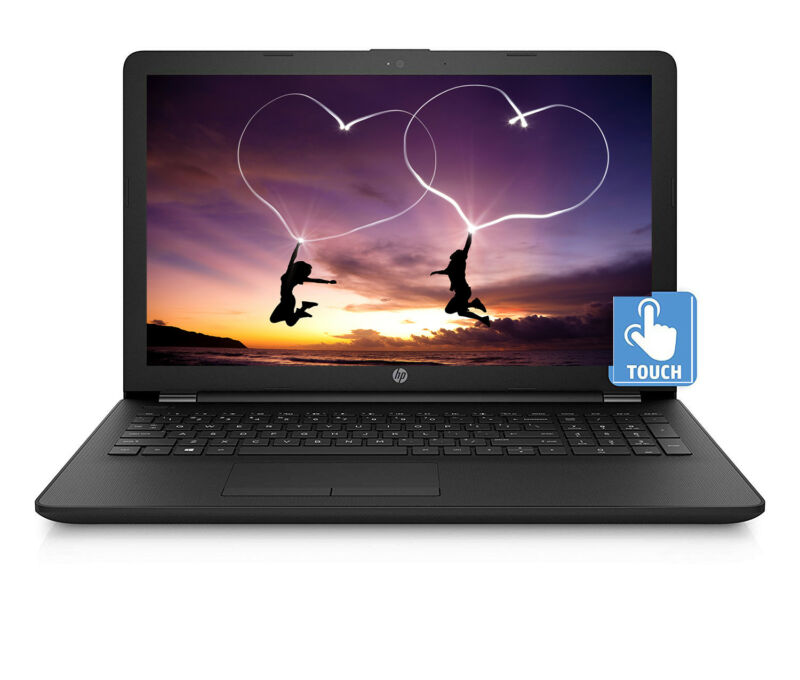 "2019 Newest HP Touchscreen 15.6"" Laptop,Quad-Core Pentium,8GB RAM,1TB HDD,Win 10"