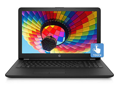"NEW HP 15.6"" Touch 4GB 1TB HDD Intel Pentium 2.7GHz Vibrant Windows 10 Laptop"