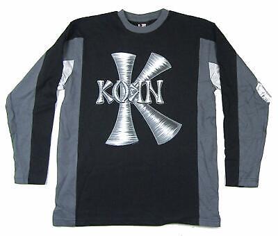Korn Winter Logo Mesh Long Sleeve  Shirt New Official NOS Ba