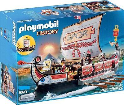 Playmobil Barco Romano 5390 - Soldados Romanos SPQR