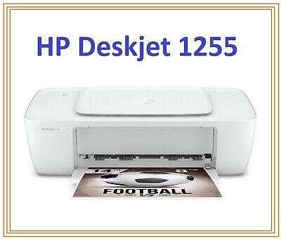 HP Deskjet 1255 Compact Printer Portable Home Office Equipment White ™