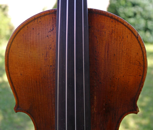 LISTEN TO THE VIDEO! 19th century Old Full Sound Bohemian violin - Emanuel Tuma