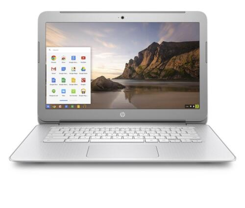 "New HP 14"" Chromebook PC Fuill HD 1920x1080 N2940 Quad-Core 4GB RAM 16GB eMMC"