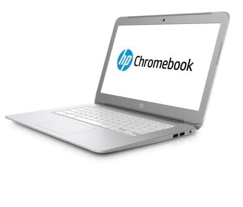 "HP 14"" Chromebook Intel Celeron 4GB Memory 16GB eMMC Flash Memory Silver 14-AK041DX"