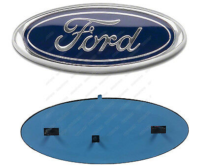 7 INCH 2004-2014 FORD F-150 BLUE OVAL FRONT GRILLE OR REAR TAILGATE EMBLEM