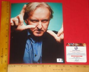 Real Authentic James Cameron Signed 8