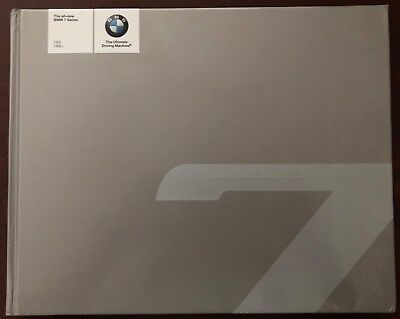 The all-new BMW 7 Series Hard Cover Book Gray.