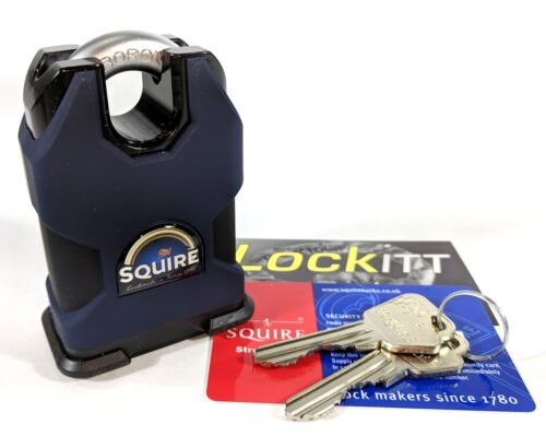 Squire SS50CS Stronghold All Weather Padlock R1 Key System Made In UK