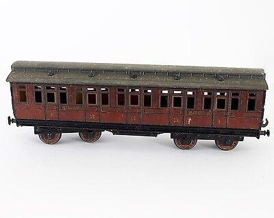 Carette Bassett-Lowke Gauge 1 MidlandClerestory Roof Passenger Coach #1323