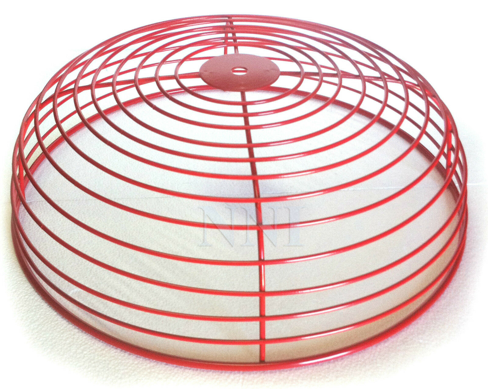 Fire Alarm Bell Guard Protector Wire Cage Red 12 Dia