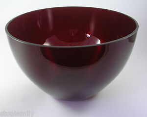 Large-Vintage-Retro-Ruby-Red-Glass-Display-Serving-bowl-22cm-x-13-5cm