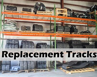 Set Of 2 New Holland C190 Loader Replacement Tracks 450 X 86 X 55 By Dominion
