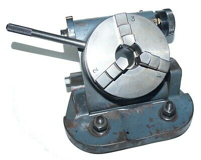Anderson 3-jaw Precision Rotary Table Chuck - Multiple Axis Setting For Deckel