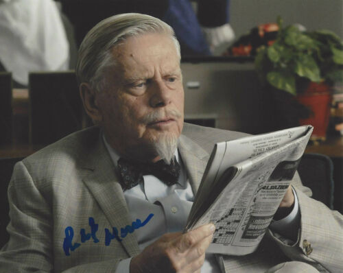 ROBERT MORSE SIGNED AUTHENTIC MAD MEN 'BERT COOPER' 8X10 PHOTO C w/COA ACTOR
