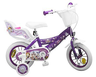 Kinderfahrrad Disney Prinzessin Sofia 12 Zoll Kinder Mädchen Fahrrad Puppensitz Prinzessin Sofia Disney