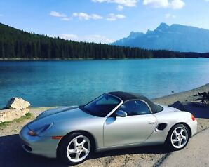 2001 boxster  5 speed  mint