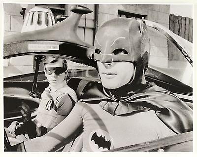 "2000's B/W Batman Robin 11"" x 14"" Photo"