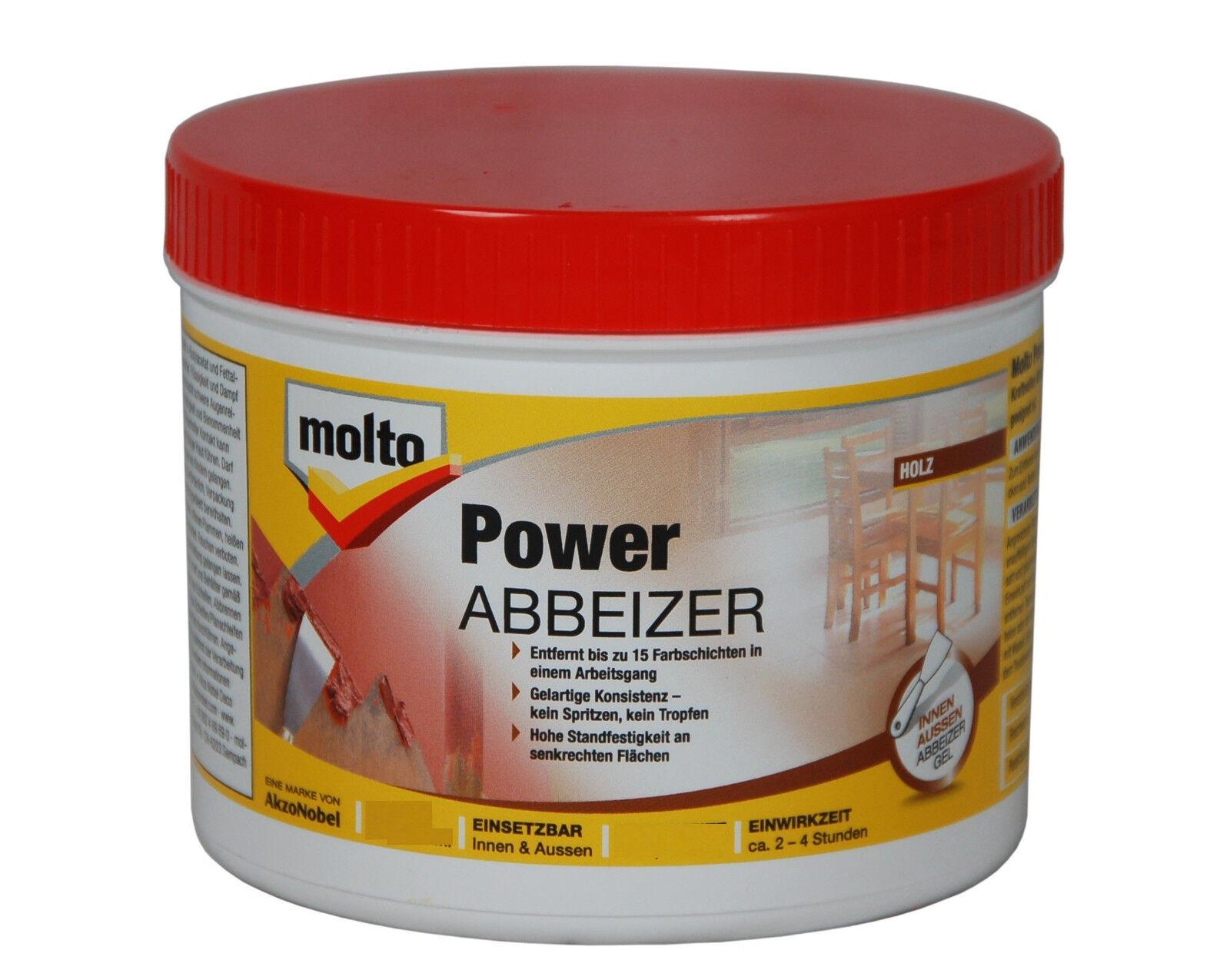 molto power abbeizer 1 liter lackbeizer lackabbeizer farbabbeizer | ebay