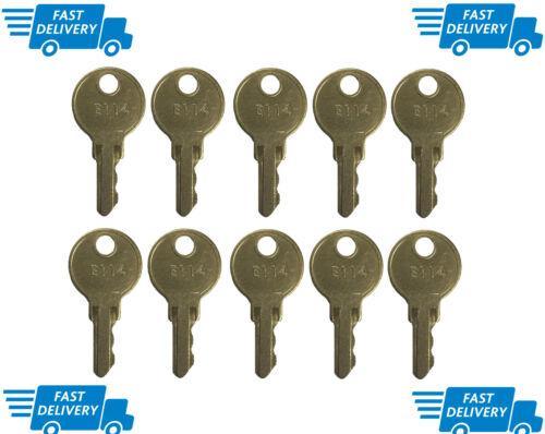 """ASI - """"E114"""" Key for Paper Towel, Toilet Tissue & Soap Dispensers - (10/pk.)"""