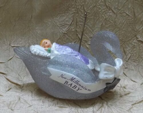 Hallmark 2000 New Millennium Baby Christmas Ornament New In Box