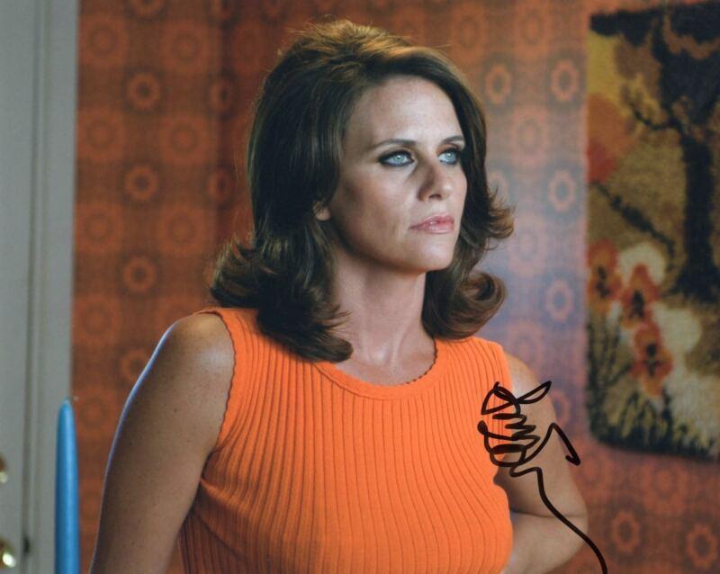 Amy Landecker signed Transparent 8x10 Photograph w/COA Sarah Pfefferman #1