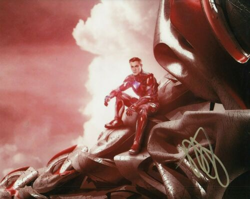 DACRE MONTGOMERY signed (POWER RANGERS) 8X10 photo *Jason Red Ranger* W/COA #3