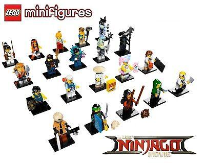 NEW LEGO Ninjago Movie 71019 - COMPLETE SET OF 20 MINIFIGURES (SEALED)