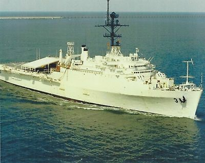 USS LaSALLE 8X10 PHOTO AGF-3 NAVY US USA MILITARY COMMAND SHIP