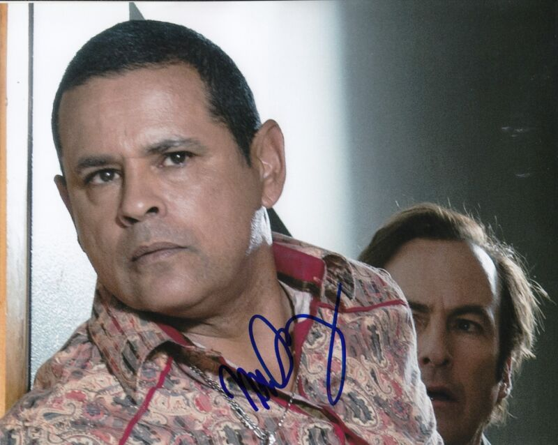 RAYMOND CRUZ signed *BREAKING BAD* TUCO SALAMANCE 8X10 TV SHOW photo W/COA #2