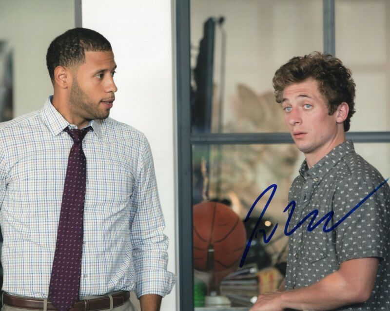 Jeremy Allen White Shameless Lip Signed 8x10 Photo w/COA 2018