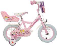 "Apollo Cupcake Kids Bike 12"" Wheels Steel Frame Caliper Brakes Childrens Bicycle"