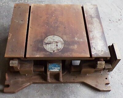 Hamilton Standard Eccentric Table 1260708518-1 E Compound Milling Table