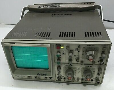 Hameg Hm203-6 20mhz Oscilloscope