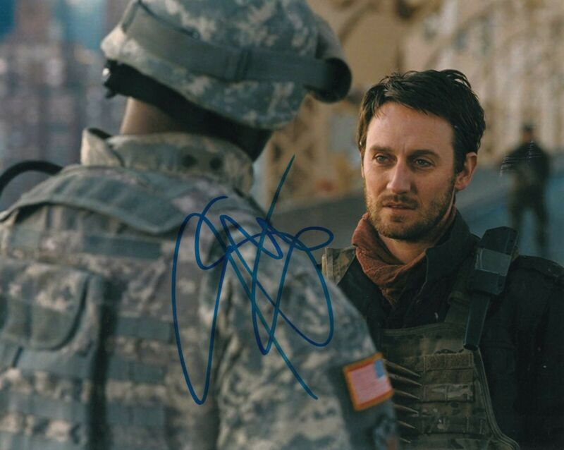 JOSH STEWART signed (BATMAN THE DARK KNIGHT RISES) 8X10 photo *BARSAD* W/COA #1