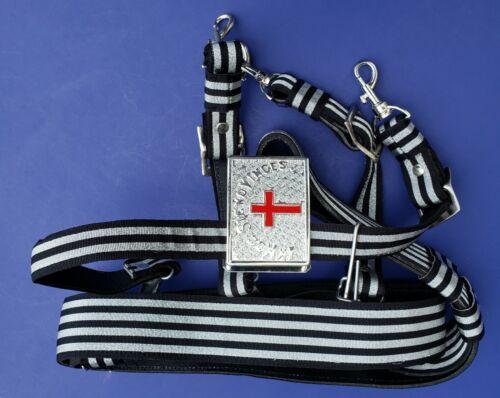 KNIGHTS TEMPLAR Sword Belt & Buckle for Sir Knight Waist Size 38