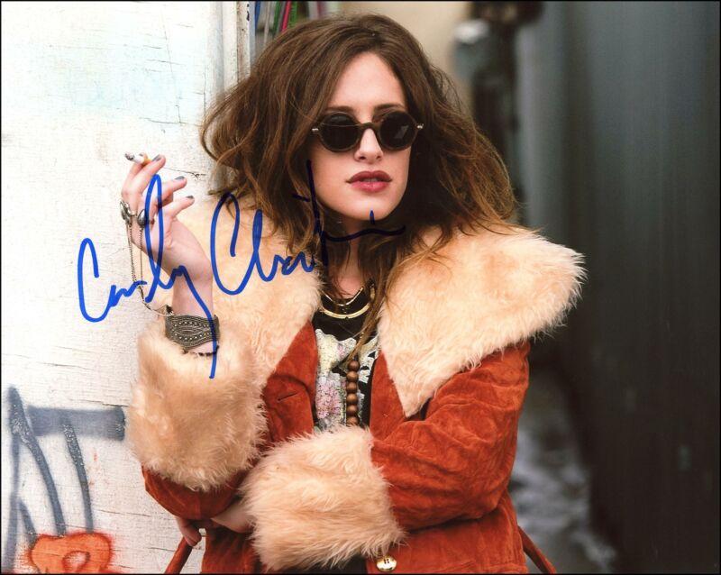 "Carly Chaikin ""Mr. Robot"" AUTOGRAPH Signed 8x10 Photo B ACOA"