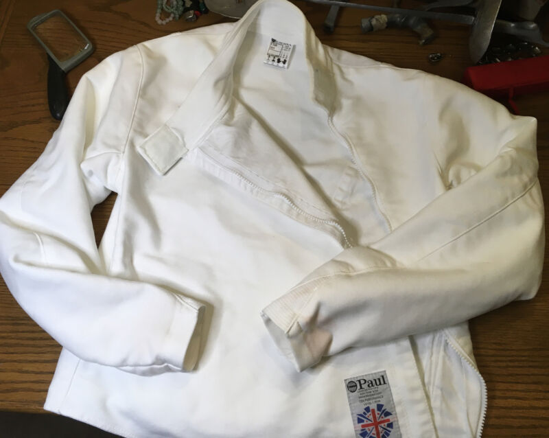 Leon Paul USA Fencing Gear For Right Hand.  Jacket, Underarm Protector, Glove.