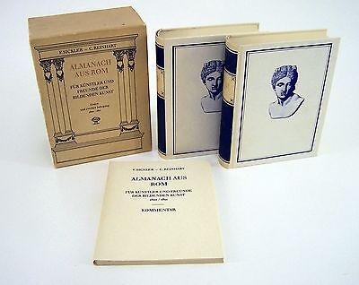 Almanach aus Rom Erster & Zweiter Jahrgang 1810 / 1811 F.Sickler / C.Reinhart