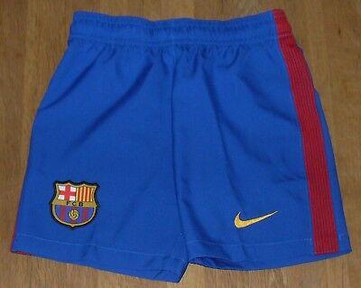 Nike FC Barcelona 2016/17 Home Shorts Size Junior XS 122 - 128cm / 6-8 Years