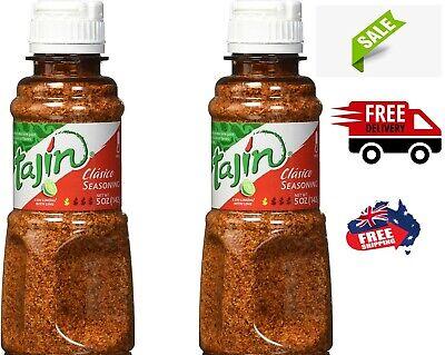 NEW2x Tajin Chili Chili Seasoning 142g Fruit & Snack Meat Seasoning Salt  AU...,