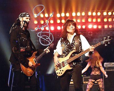 Gfa Quiet Riot Bassist   Rudy Sarzo   Signed Autograph 8X10 Photo R3 Coa