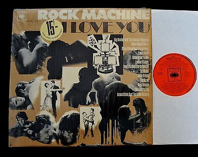 Rock Machine I Love You Cbs 26 Uk Byrds Simon   Garfunkel Big Brother