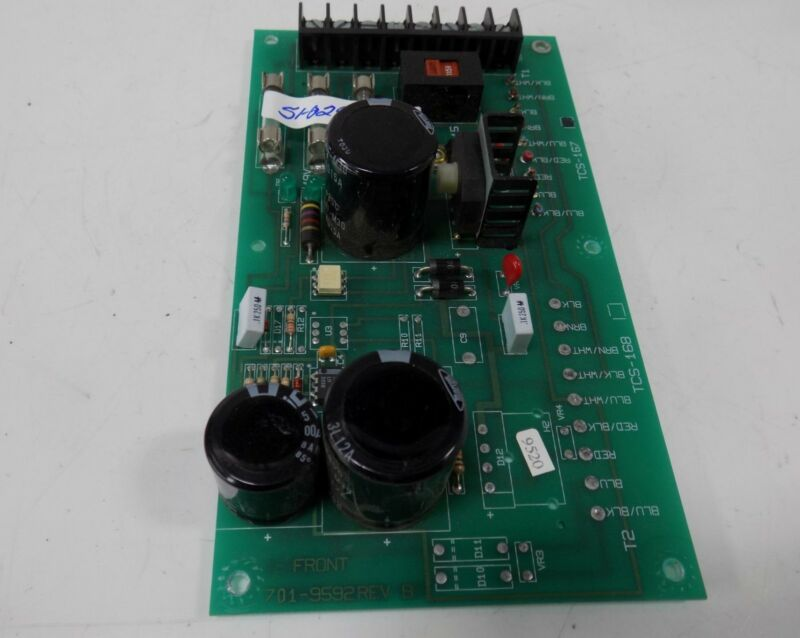 WARNER ELECTRIC PC BOARD  701-9592 REV-B