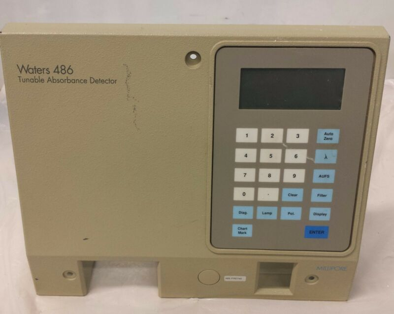 Waters 486 Tunable Absorbance Detector Panel & Keyboard only!