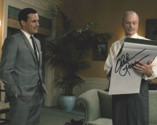 CHELCIE ROSS SIGNED AUTHENTIC 'MAD MEN' CONNIE 8x10 PHOTO B w/COA TV ACTOR