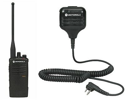 Motorola Rdu4100 Uhf Two-way Radio With Remote Mic. Buy 6 Get A Free Radio