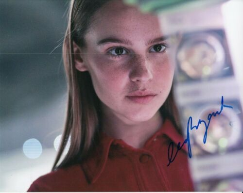 CLARA RUGAARD signed (I AM MOTHER) movie autographed *Daughter* 8X10 W/COA