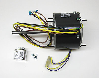 Ac Air Conditioner Condenser Fan Motor 16 Hp 1075 Rpm 230 Volts For Fasco D917