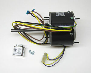 AC Air Conditioner Condenser Fan Motor 1/6 HP 1075 RPM 230 Volts for Fasco D917